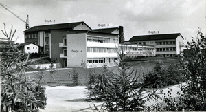 Fig. 2: Max Planck Institute for Virus Research 1964
